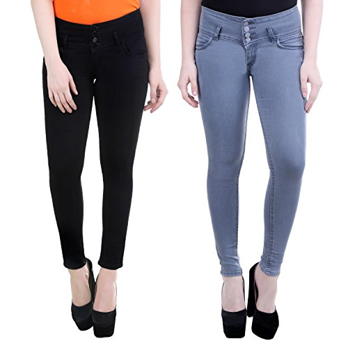 SRW Women's Slim Fit Jeans Combo Contemporary Slim Fit Denims for Women...