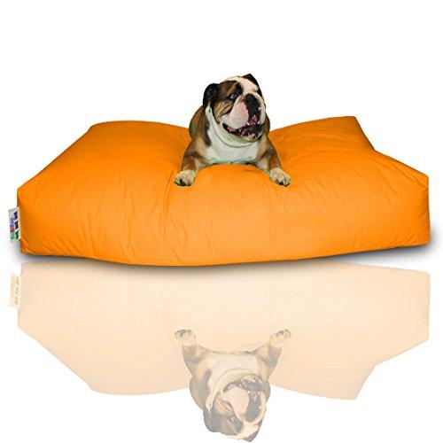 BuBiBag Hundekissen Größe 100x60x10 cm aus wasserdichtem Polyester Stoff in 23 verschiedenen Fraben zur Auswahl