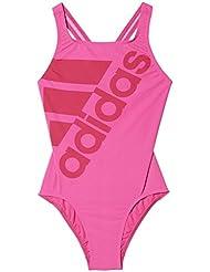 adidas Inf+ Sol 1Pc G BK3687 Bañador, Niñas, Rosa (Rosimp / Rosfue), 116