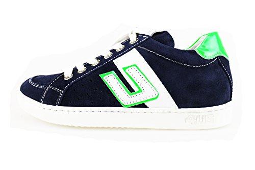 cesare-paciotti-sneakers-garcon-gris-blanc-bleu-blanc-daim-30-eu-bleu-blanc