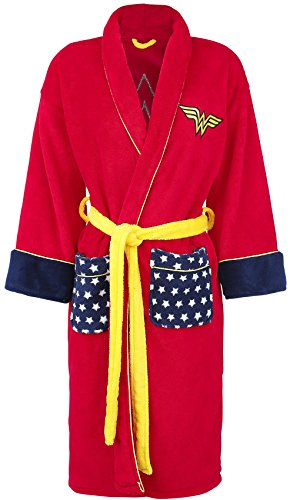Wonder Woman Logo Bath robe multicolour one size