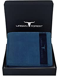 URBAN FOREST Blue Men's Wallet
