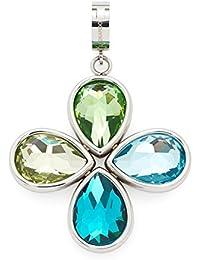 Leonardo Damen- Anhänger Darlin's Reale Edelstahl Glas mehrfarbig - 015492