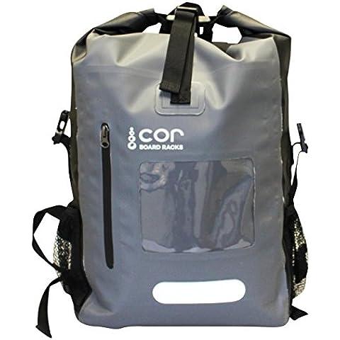Cor Junta estante impermeable bolsa seca Mochila 40L con Laptop Sleeve y protección para electrónica/Mantener Su Equipo en seco en los