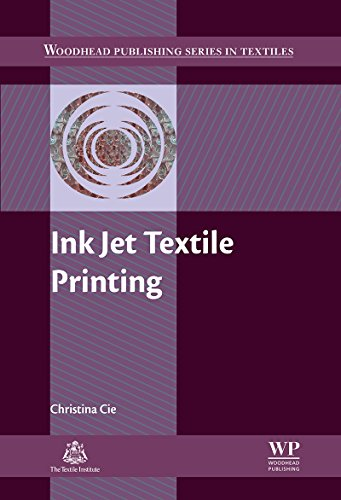Serie Color Inkjet (Ink Jet Textile Printing (Woodhead Publishing Series in Textiles) (English Edition))