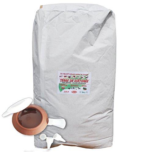 Vozanimo Diatomeerde, Nicht kalzart/lebensmittelecht, 20 kg, inkl. Gebläse