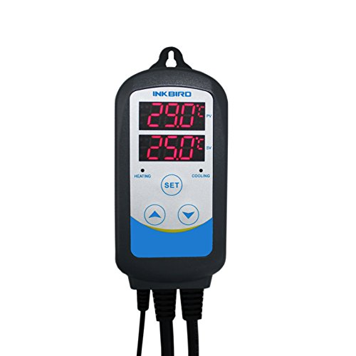 Inkbird 220V itc-310t-b Bierbrauen Automatischen Temperatursteuerung Digitale Temperaturregler Relais Thermostat Schaltsteckdose & Timer Stecker (Kühlschrank Thermostat Steckdose)