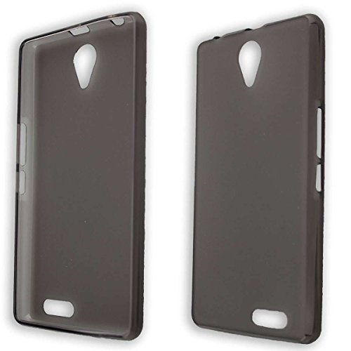 caseroxx TPU-Hülle für Medion Life E5020 MD 99616, Tasche (TPU-Hülle in schwarz-transparent)