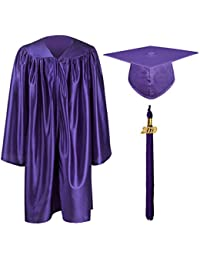 GraduationMall Nursery Academic Graduation Gown with Mortarboard Hat