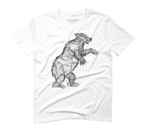 Urban Zone Men's Graphic T-Shirt - Design By Humans White
