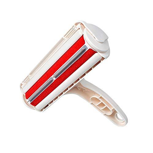 PanDaDa Wiederverwendbare tragbare klebrige Fussel Reinigungsbürste für Haustier Haar/Staub auf Möbeln/Kleidung/Teppich - Haustier-haar-möbel-entferner