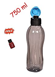 Tupperware Aquasafe Plastic Bottle, 750ml, Multicolour