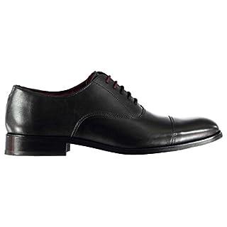 Firetrap Mens Blackseal Arundel Derby Shoes Black UK 8 (42)