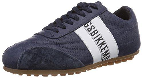 Bikkembergs 641083, Sneakers basses mixte adulte Bleu - Blau (Blau/Weiss)