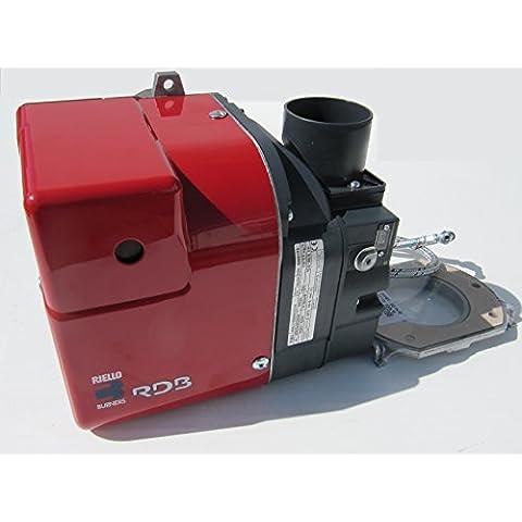 Riello RDB Bruciatore Gas, olio/Diesel per boiler elettrico riscaldamento centralizzato? Vestibilità universale? 15?21kW