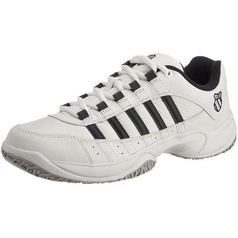 K-Swiss Outshine  Zapatillas de tenis de cuero para hombre