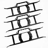 Set di 3 strutture porta-cavo ad H, per cavi e prolunghe, per tenere i cavi ordinati, per castelli gonfiabili, DJ, attrezzi da giardino