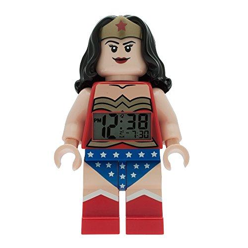 LEGO-Despertador Wonder Woman \'Lego\'-niños-rojo