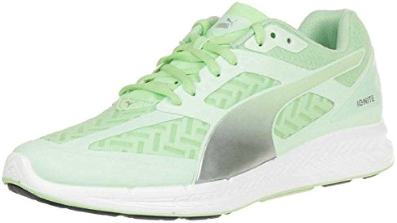 Puma Ignite Powercool Women Running Shoes Jogging 188078 02 Green, Tamaño de Zapato:EUR 41