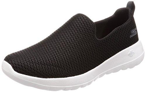 Skechers Vont Marcher Joie, Des Chaussures Des Femmes Sans Lacets, Gris (charbon De Bois), 36,5 Eu