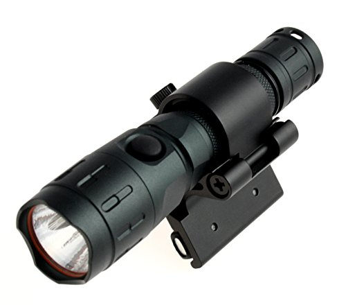Preisvergleich Produktbild Universal Magnethalterung mit XGlow XT1000 CREE-3 Farb LED Taschenlampe mit 235 Lumen - Nachtsicht - SOS -Spurensuche - Geocaching, Fahrradbeleuchtung usw.