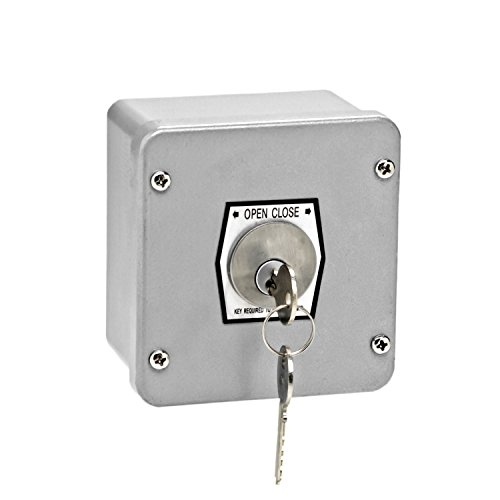 MMTC 1KX Nema 4 Exterior Tamperproof Open-Close Key Switch Surface Mount by MMTC