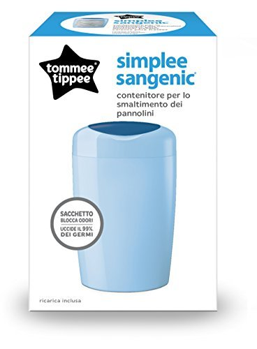 Tommee Tippee 87003001?Simplee of Nappy Disposal System azure by Tommee Tippee