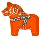 Sagaform 5015862 Servierschale Keramik, 21 x 20 x 6 cm, weiß/rot / bunt