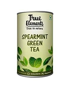 True Elements Spearmint Green Tea, 100g