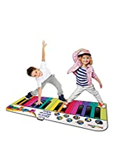 RAINBOW COLOURS Tapis Piano géant et Fun pour Enfants, RW30047, Multicolore