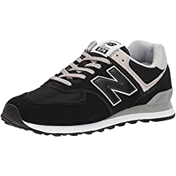 New Balance 574 Core Zapatillas Hombre, Negro (Black EGK), 41.5 EU (7.5 UK)