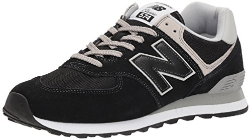 New Balance Herren Ml574E Sneaker, Schwarz (Black/ML574EGK), 49 EU