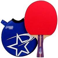 Xianw Estafa De Tenis De Mesa Profesional del Entrenamiento De La Paleta De Ping Pong Avanzada con La Caja De Transporte,C