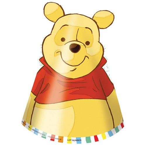 Disney Winnie Pooh 6 Party Huete Hut Krönchen Puuh
