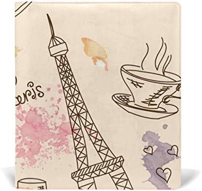 Malplena Voyage à Paris Paris Paris L'école couvertures de livres Idéal pour l'école et cadeaux B07K9PGVCH   Des Performances Fiables  d4004f