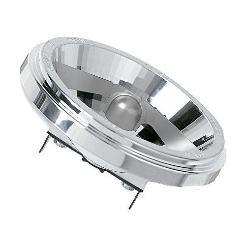 Osram Halospot Halogen-Reflektor, G53-Sockel, dimmbar, 12 Volt, 35 Watt - Ersatz für 50 Watt, 8 ° Abstrahlungswinkel, Warmweiß - 2900K Lampe Sp-lamp