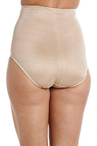 Damen Beige Shapewear volle Unterstützung steuern kurz Schlüpfer Beige