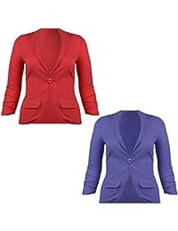 86d9bda7f511 Suchergebnis auf Amazon.de für  blazer rot damen  Bekleidung