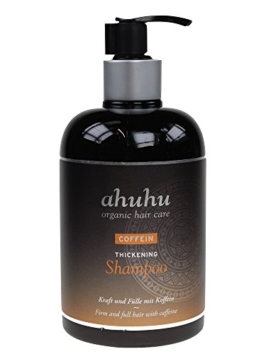 ahuhu organic hair care Coffein Thickening Shampoo 500ml *