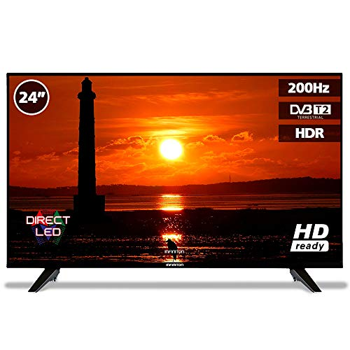 TV LED 24' INFINITON HD Ready - HDMI, 200Hz, Modo Hotel