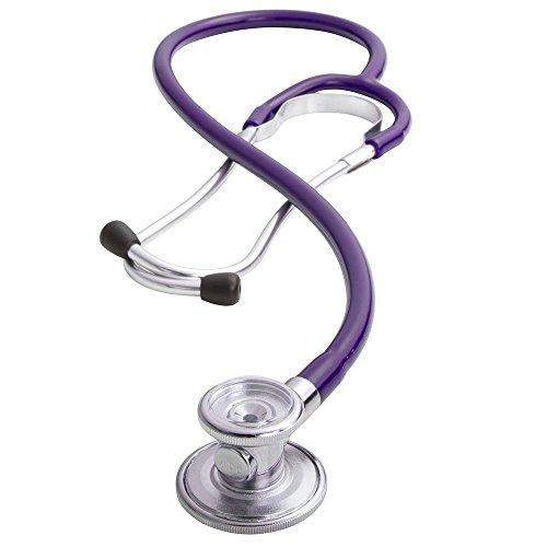 ADC 647 Sprague-1 Ad scope Stethoskop mit 5 austauschbaren Bruststücken, indigo, 1 -