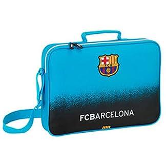 FC Barcelona – Portadocumentos con bandolera fc barcelona turquesa b511b03a013f0