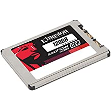 "Kingston SSDNow KC380 120GB - Disco duro sólido interno SSD de 120 GB (Micro Serial ATA III, 550 MB/s, 4.57 cm (1.8""), 0.4W), plateado"