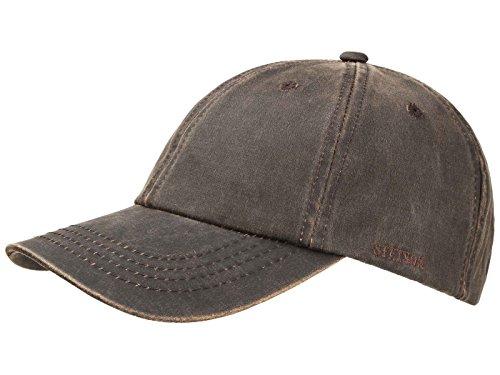 stetson-casquette-baseball-776-california-statesboro-co-pes-homme-marron-l-xl