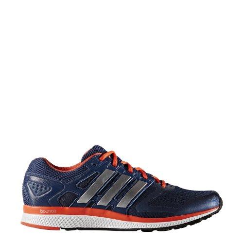 Adidas, Sapatos De Corrida Dos Homens Azul Amarelo /