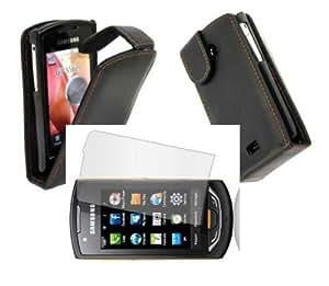 * Housse étui Samsung S5620 Player Star 2 + film écran *
