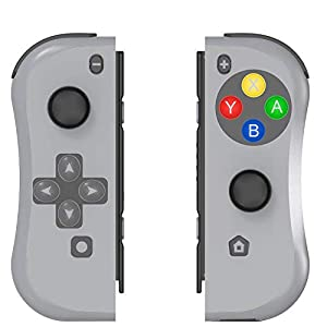Controller für Nintendo Switch, BestOff Left und Right Controller Kompatibel für Nintendo Switch Console als Joy Con Controller
