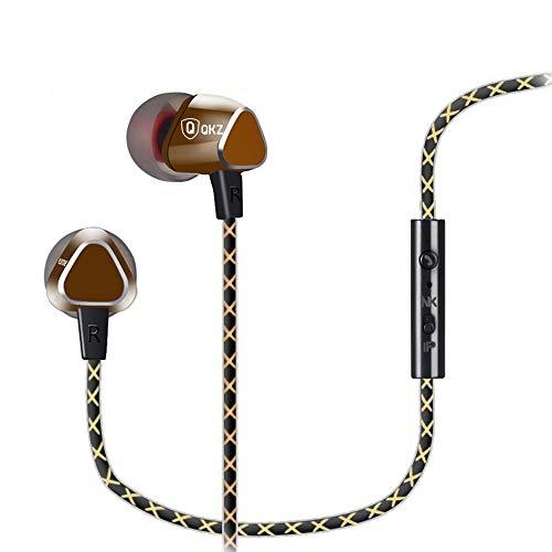 LQUYY in-Ear Telecomando Cuffie Auricolari Beats Rose Gold Auricolari Beats,Gold