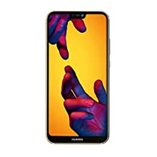 Huawei P20 Lite 64 GB/4 GB Dual SIM Smartphone - Platinum Gold (West European Version)