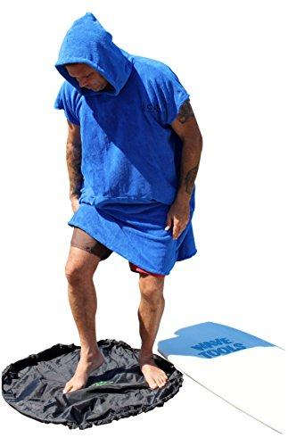 COR Surf Surfen Wechseln Handtuch Robe Mit Kapuze